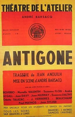 Antigone and ismene scene