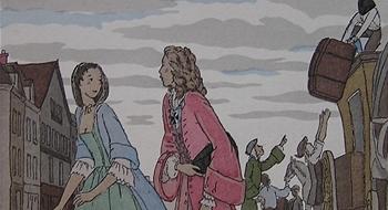 La rencontre entre manon lescaut et le chevalier des grieux