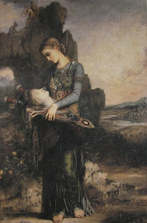 "Gustave Moreau, ""Jeune fille thrace..."""