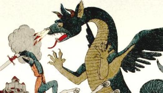 frappe porte dragon